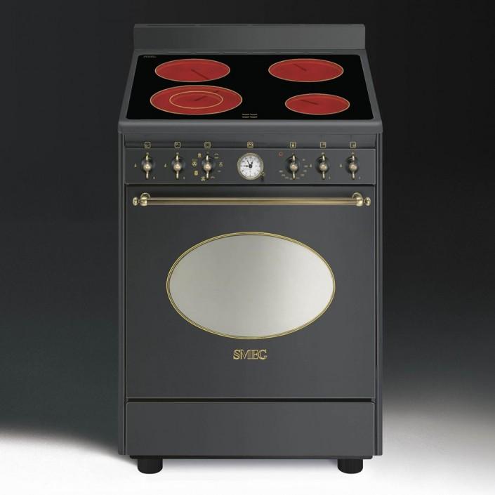 Kuchnia ceramiczna elektryczna wolnostojąca SMEG CO68CMA8 8017709150068