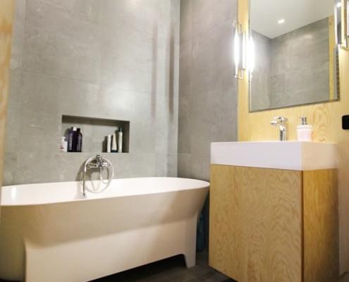Kafle podłogowe imitujące beton architektoniczny