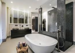 Nowoczesny pokój kąpielowy
