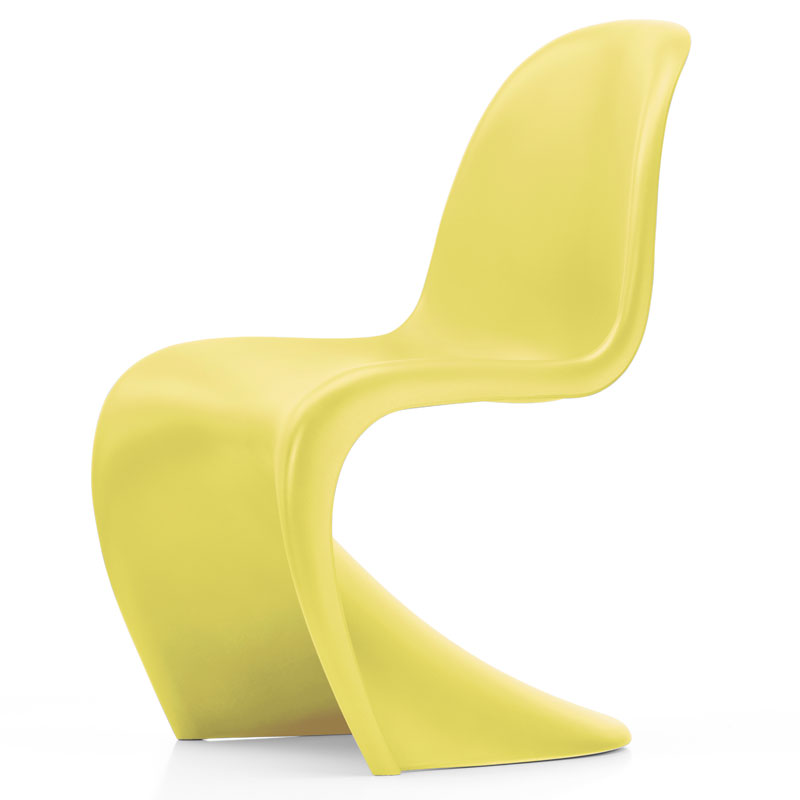Zółte krzesło Panton Chair