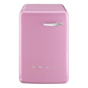 Różowa pralka vintage SMEG LBB14RO 8017709151515