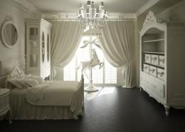 Elegancki pokój dziecięcy