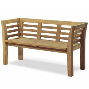 zabudowana ławka ogrodowa