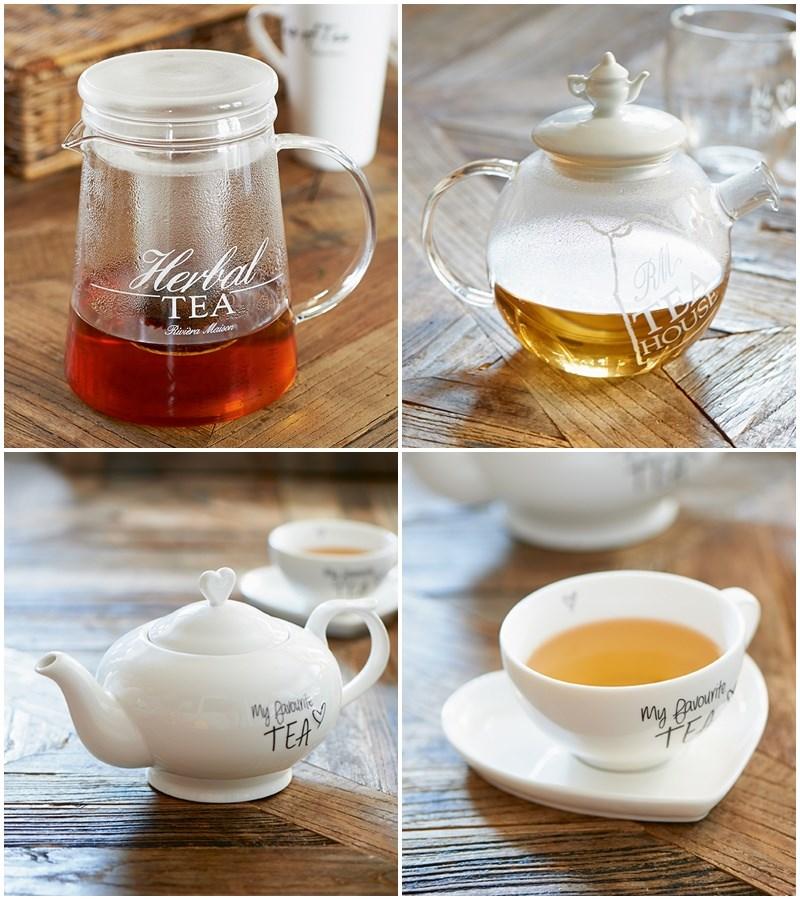 Stylowy imbryk do herbaty
