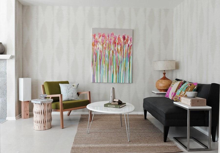 pomys na salon w stylu vintage s abo ci do staro ci vintage modern home decor