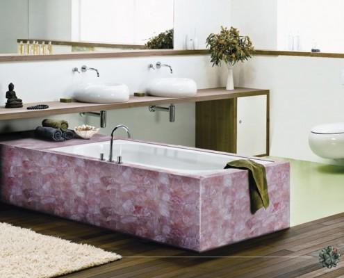 Kamień półszlachetny Pink Quartz Maer