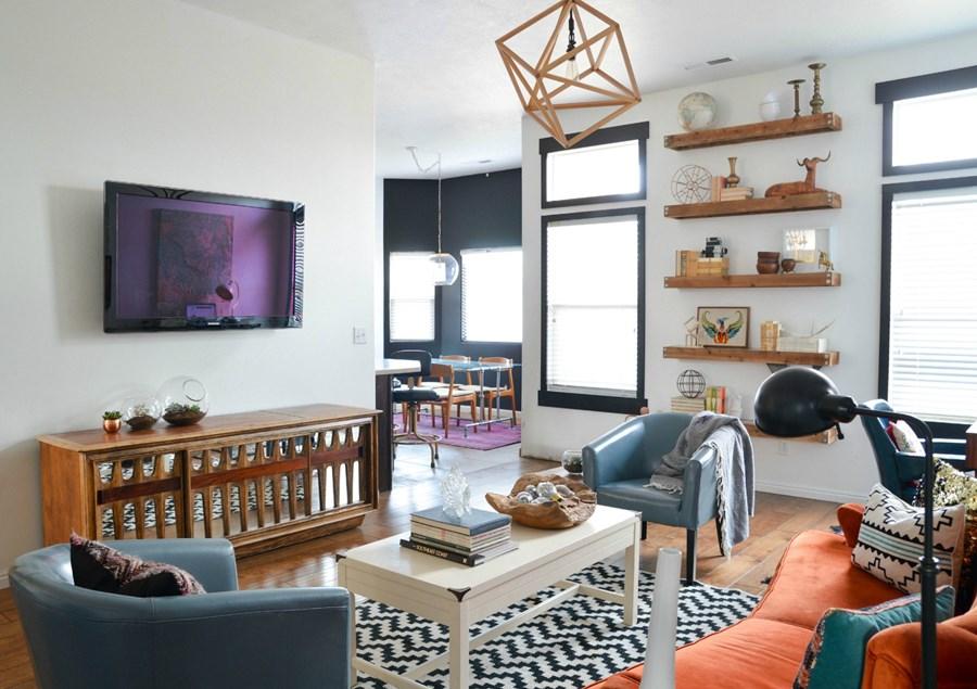 Charming Bohemian Style Living Room Ideas