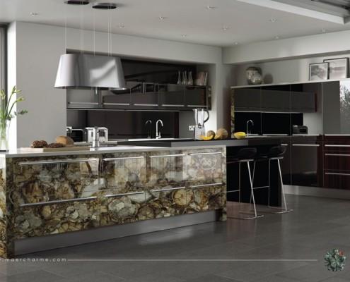 Kamień półszlachetny w kuchni