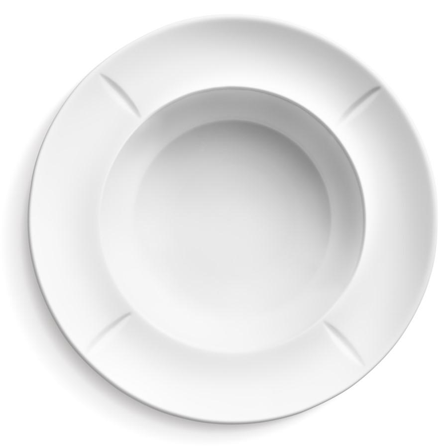 Porcelanowy talerz do makaronu