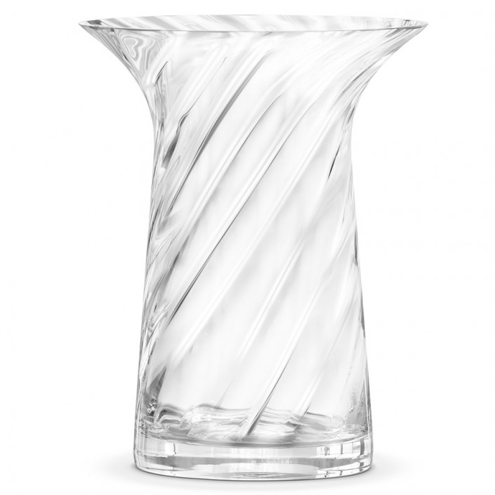 Szklany wazon w nowoczesnym stylu