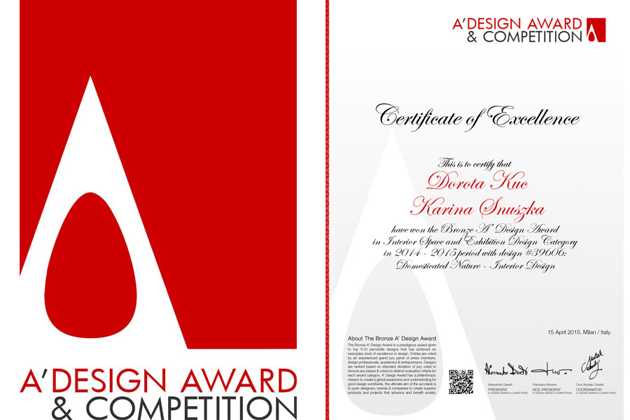 mood works A'Design Award & Competition