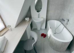 Łazienka z toaletką