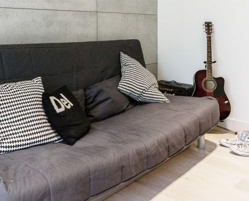 Pokój młodzieżowy w minimalistycznym stylu
