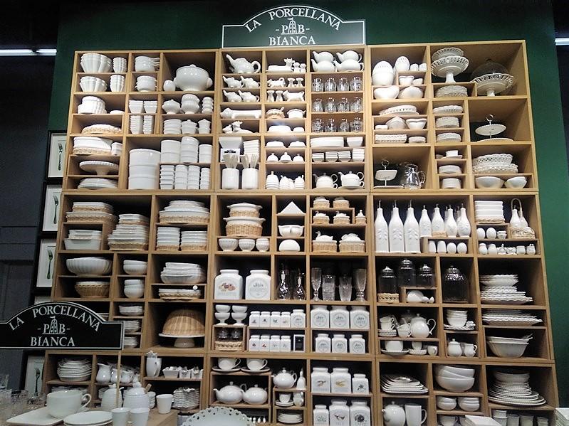 Stoisko La Porcelana Bianca na Ambiente