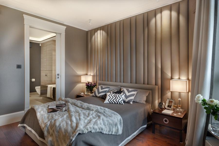 Sypialnia Art Deco W Szarościach Inspiracja Homesquare