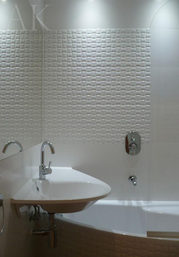 Kafelki 3d W Niewielkiej łazience Inspiracja Homesquare