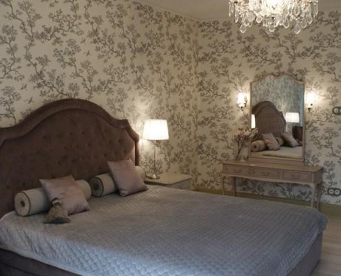 Tradycyjna sypialnia Lush Design