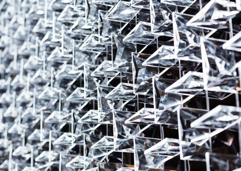 Preciosa, Czechy - instalacja led, targi Mediolan 2015
