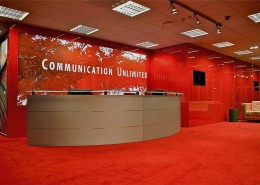 Agencja Reklamowa Communication Unlimited aranżacja wnętrz