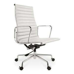 Krzesło biurowe Aluminium Chair EA 119 białe