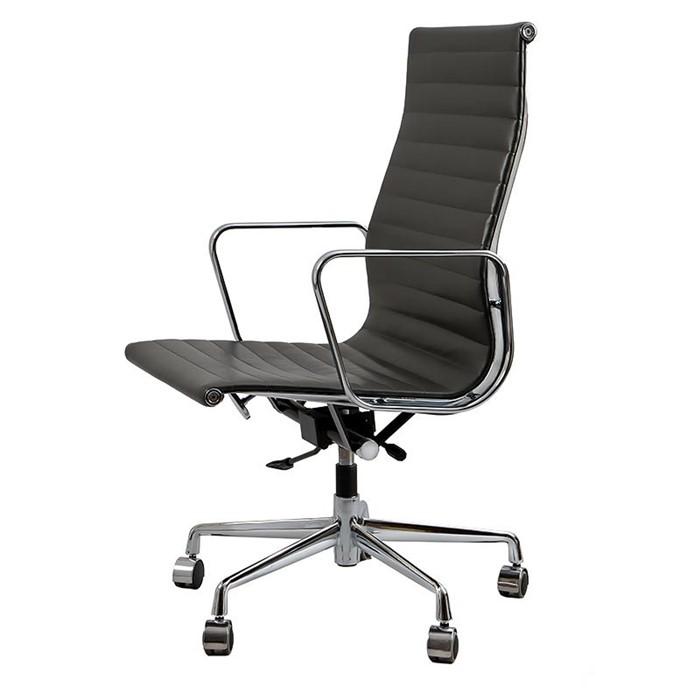 Krzesło biurowe Aluminium Chair EA 119 czarne