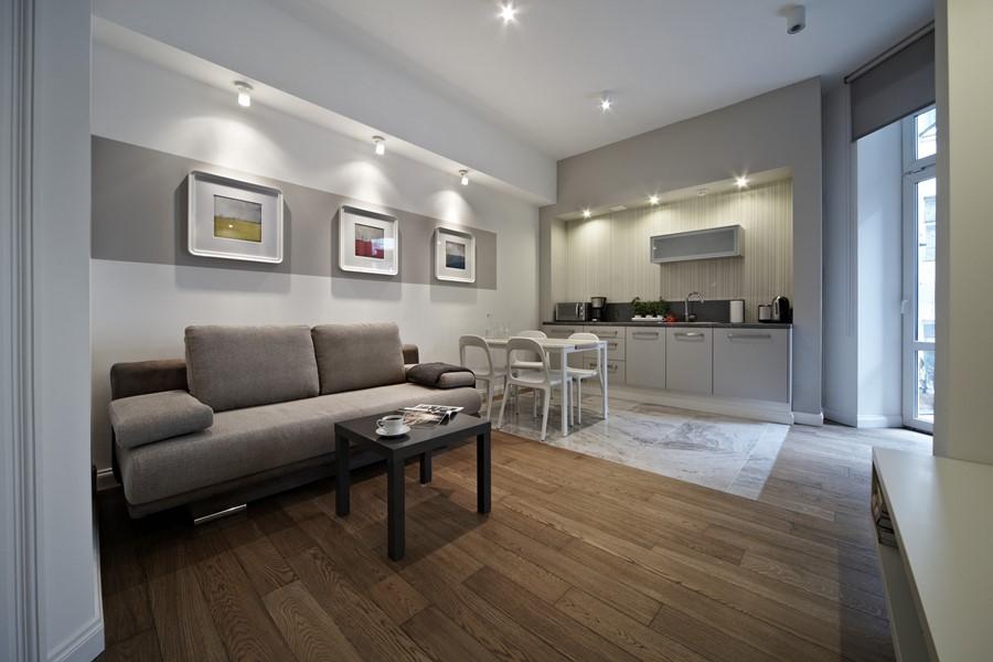 aran acja salonu z kuchni w bloku najlepszy pomys na projekt kuchni w tym roku. Black Bedroom Furniture Sets. Home Design Ideas