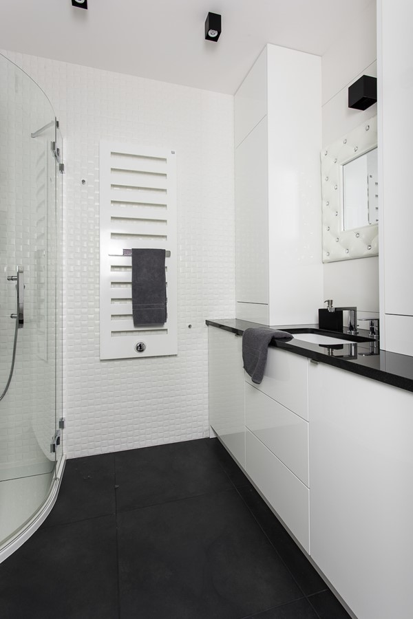 Biała łazienka Na Wysoki Połysk Inspiracja Homesquare