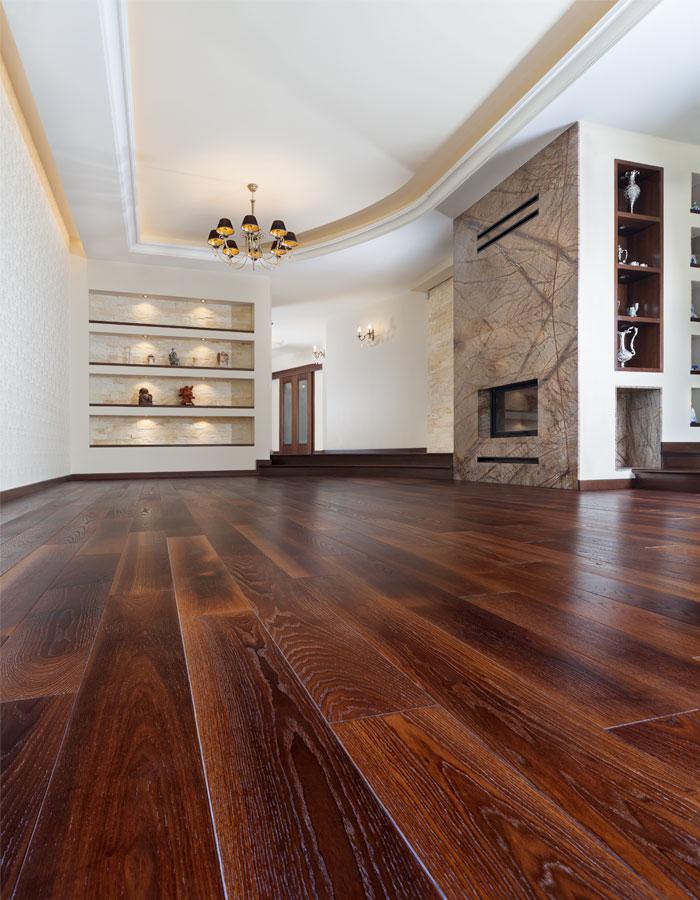 drewno w domu czyli naturalne piękno w salonie
