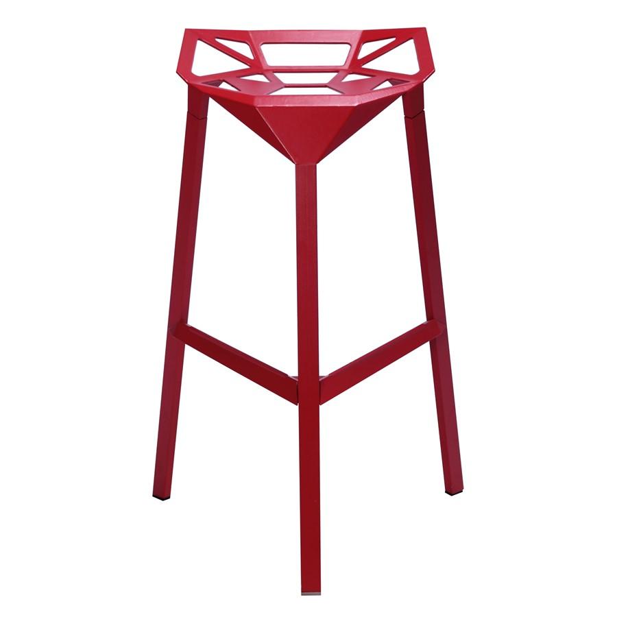Hoker Chair One stool Czerwony Magis