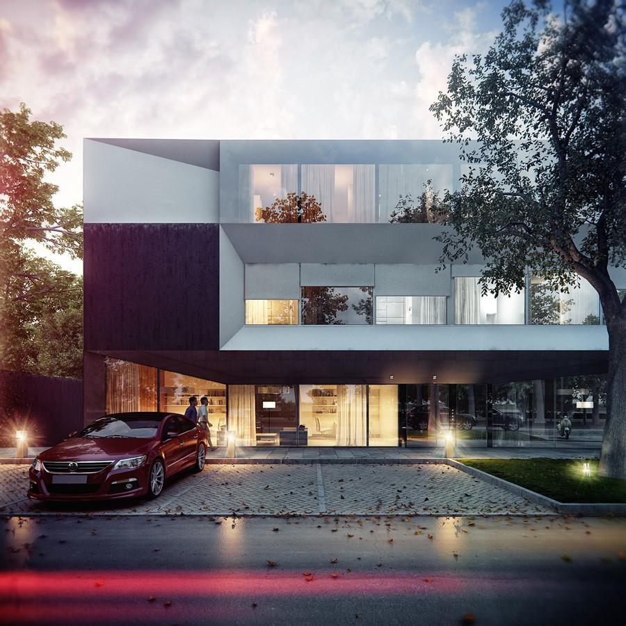 Kooperatywa KMA Kabarowski Misiura Architekci budynek mieszkalny