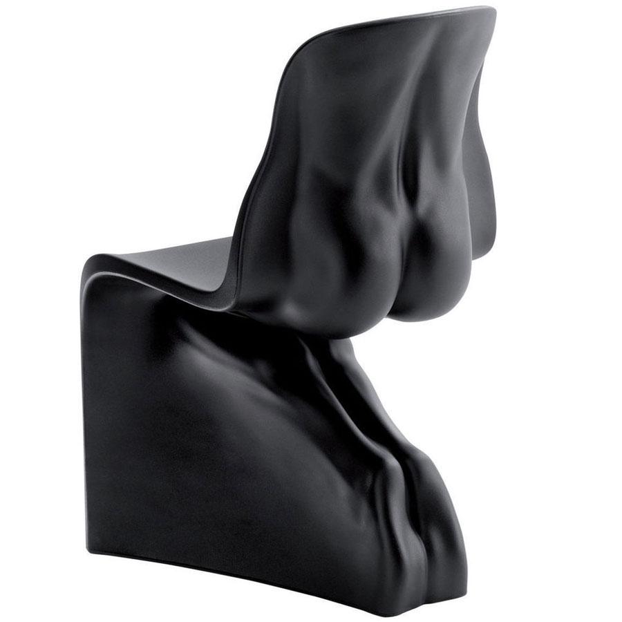 Chair HIM black casamania Fabio Novembre