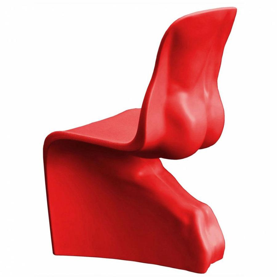 Chair HIM red casamania Fabio Novembre