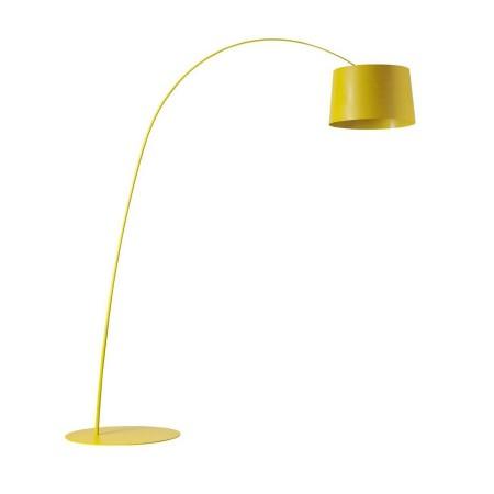 Lampa podłogowa Twiggy żółta Foscarini
