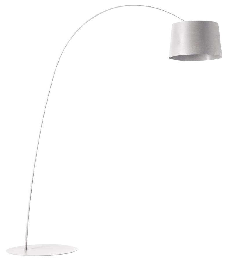 Lampa podłogowa Twiggy biała Foscarini