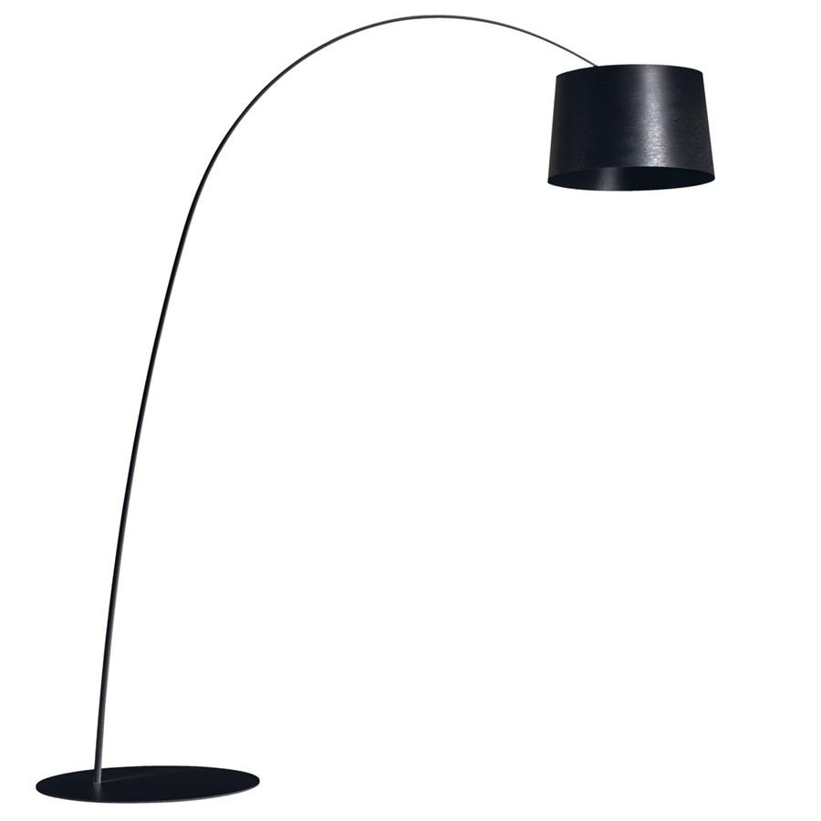 Lampa podłogowa Twiggy czarna Foscarini