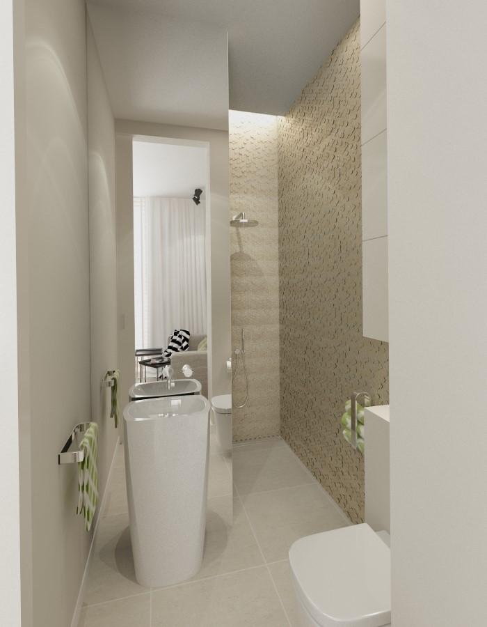Mała łazienka Z Mozaiką 3d Inspiracja Homesquare