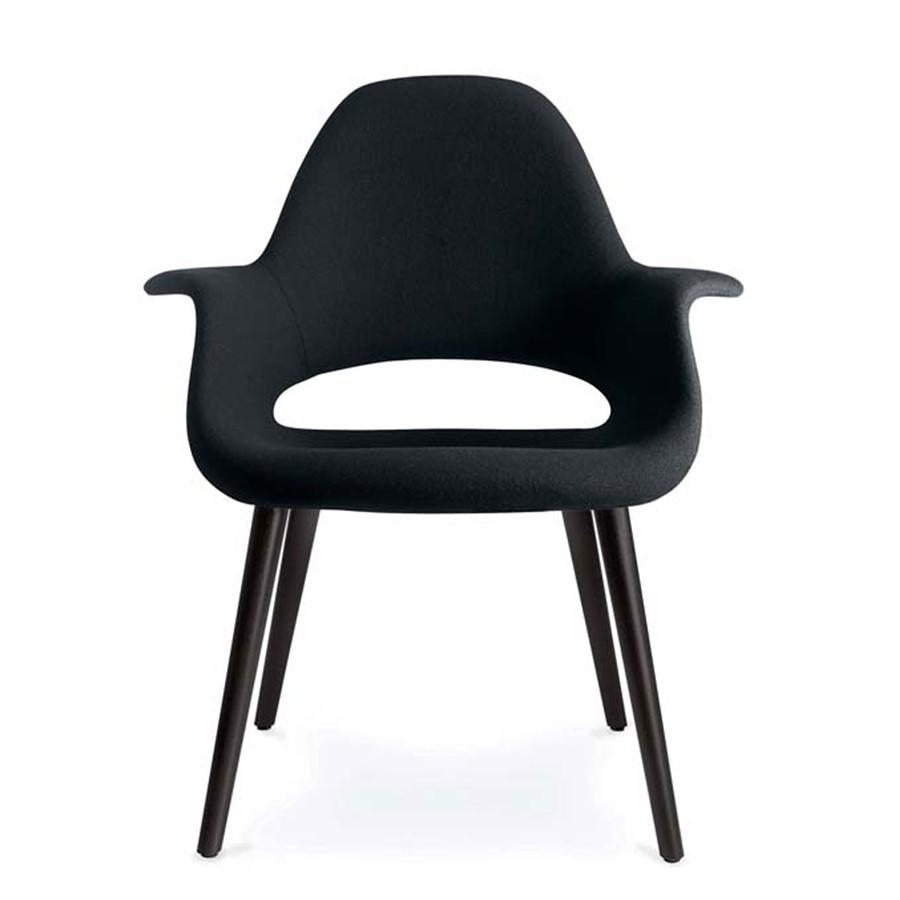 Krzesło Organic Chair czarne Vitra