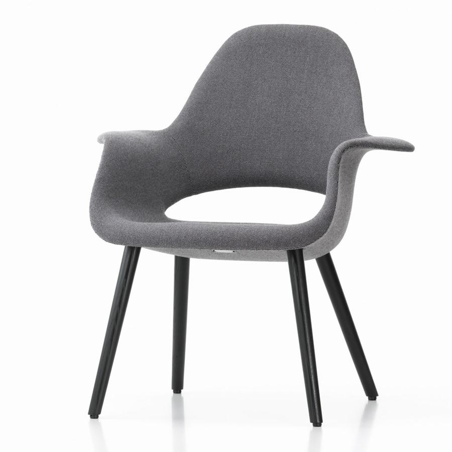 Krzesło Organic Chair szare Vitra