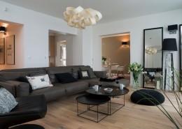 Pokój wypoczynkowy w nowoczesnym stylu salon