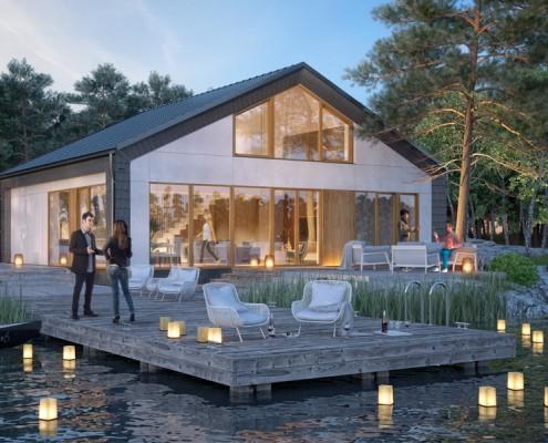 Procyon nowoczesne domy pasywne