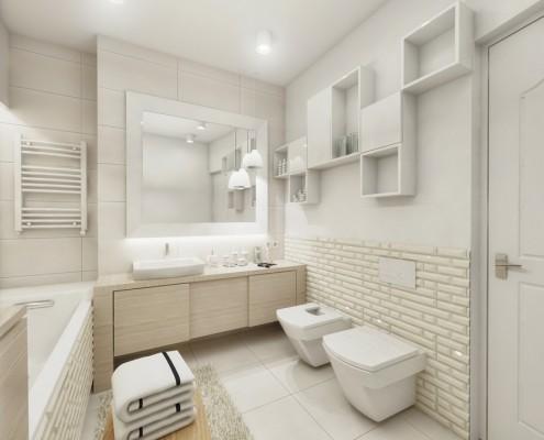 Projekt Białej łazienki Z Wanną Inspiracja Homesquare