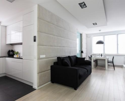 Tapicerowane ściany w nowoczesnym stylu