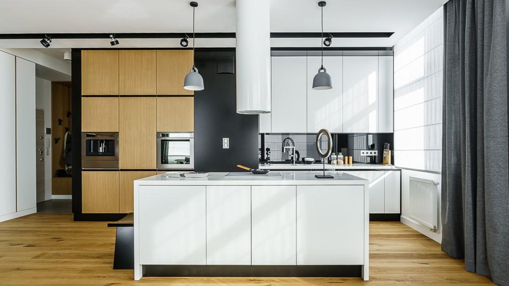 biała wyspa kuchenna - jak urządzić kuchnię