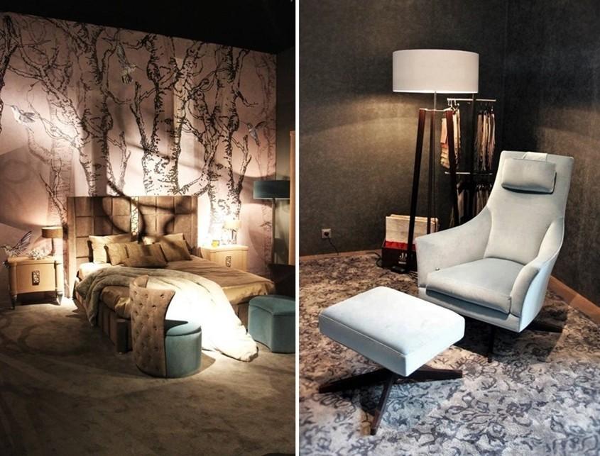 pastele, pikowania i łączenie materiałów - trendy Mediolan 2015