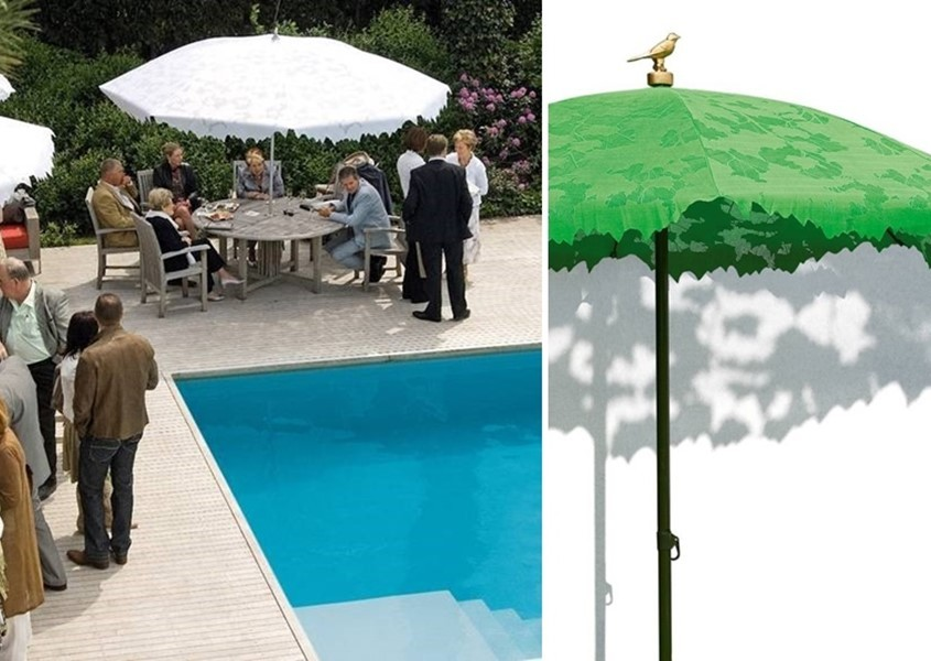 ekskluzywny parasol ogrodowy Shadylace