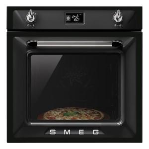 Piekarnik elektryczny czarny z chromem SMEG SFP6925NPZ 8017709204358