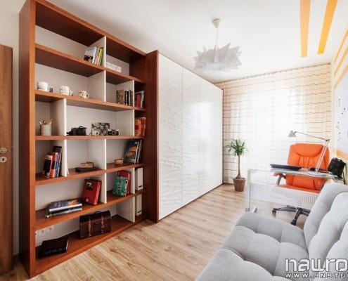 Aranżacja domowego biura styl nowoczesny