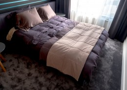 Aranżacja nowoczesnej sypialni Jacek Tryc