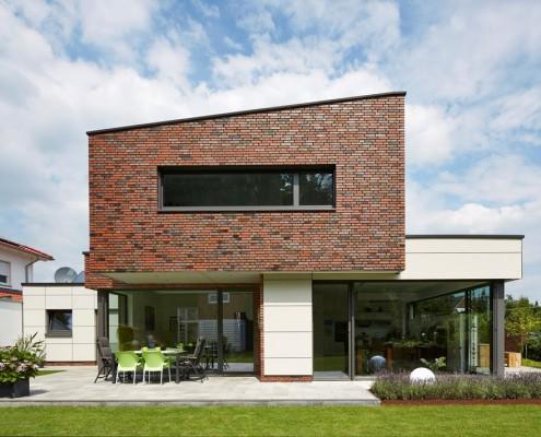 Dom jednorodzinny w Północnej Westfalii Schueco