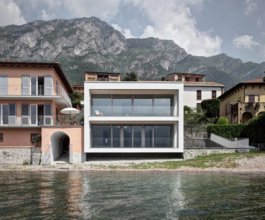 Dom z perspektywą na naturę Casa Benedetti Schueco